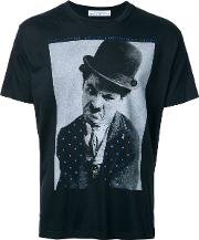 Education From Youngmachines , Charles Chaplin T Shirt Men Cotton 2, Black