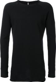 First Aid To The Injured , 'umbo' Sweatshirt Men Cotton 4, Black