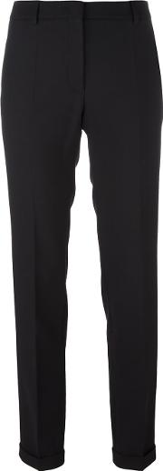 Incotex , Straight Leg Trousers Women Spandexelastanewool 46, Women's, Black