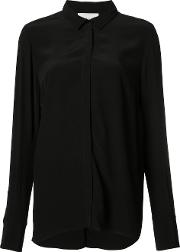 Just Female , Draped Back Shirt Women Viscose Xs, Women's, Black