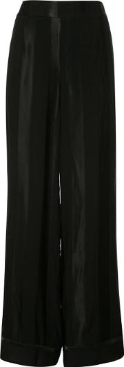 Just Female , Tonal Stripe Trousers Women Cottonviscose M