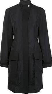 Maiyet , Oversized Flap Pockets Coat Women Silkpolyester 8