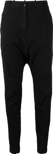 Masnada , Loose Fit Pants Women Linenflaxspandexelastaneviscose 44, Women's, Black