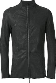 Masnada , Zip Up Jacket Men Cotton 52, Black