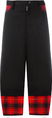 Nocturne 22 , Check Trousers Women Cottonpolyurethanecuprowool S