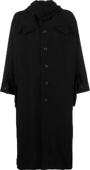 Nocturne 22 , Short Wide Sleeve Coat Women Cottonlinenflaxcuprowool S, Women's, Black