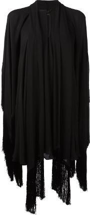 Plein Sud , Draped Tunic Dress Women Silk 38