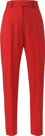 Racil , Stones Tailored Trousers Women Woolmohairtriacetateviscose 40, Red