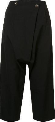 Song For The Mute , Cropped Trousers Women Wool 38