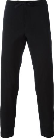 Stephan Schneider , 'still Life' Trousers Men Cottonnylonwool L, Black