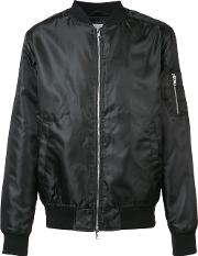 Wesc , Shine Bomber Jacket Men Polyester S, Black