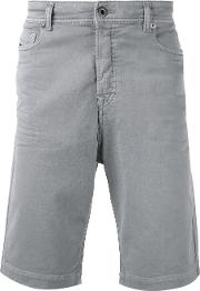 Diesel Black Gold , Classic Chino Shorts Men Cottonpolyesterspandexelastane 32, Grey