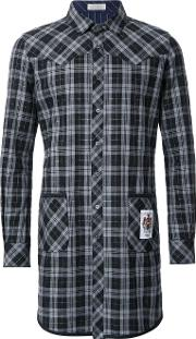 Education From Youngmachines , Checked Shirt Men Cottonpolyester 3, Black