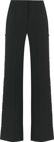 Giuliana Romanno , Flared Trousers Women Polyester 36, Grey