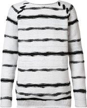 Baja East , Striped Jumper Men Cashmerewool 3