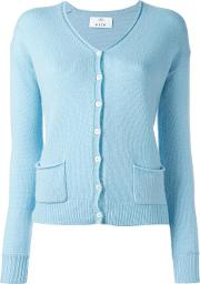 Allude , Button Up Cardigan Women Cashmere M, Women's, Blue