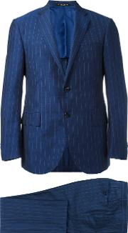 Corneliani , Two Piece Suit Men Linenflaxcuprowool 52, Blue