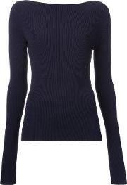 Dion Lee , Pinacle Knitted Blouse Women Viscose 10, Women's, Blue