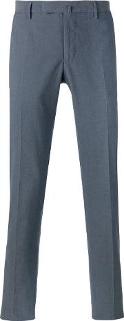 Incotex , Tailored Trousers Men Cottonspandexelastane 52, Blue