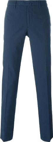 Incotex , Tailored Trousers Men Cottonspandexelastane 58, Blue