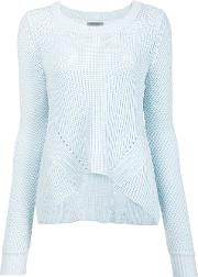 Maiyet , Crew Neck Jumper Women Cotton S, Women's, Blue