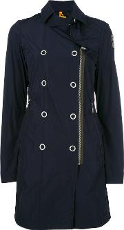 Parajumpers , Dislocated Zip Trenchcoat Women Polyester M, Women's, Blue