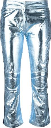 Rossignol , Metallic Three Quarter Trousers Women Polyester 40