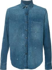 Simon Miller , Denim Shirt Men Cotton 2