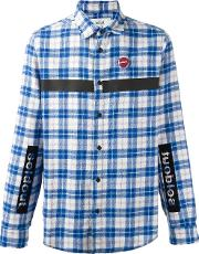 Sold Out Frvr , Checked Shirt Men Cottonpolyesterother Fibers Xs, Blue