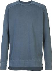 Zanerobe , Crew Neck Sweatshirt Men Cotton Xxl, Blue