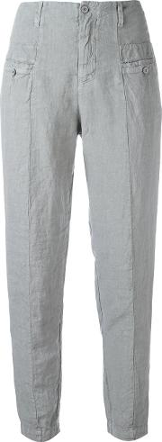 Transit , Panelled Trousers Women Linenflax 4