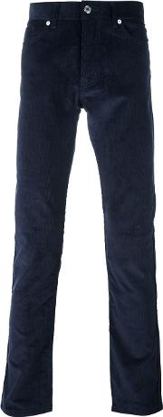 Editions Mr , Editions M.r Ribbed Straight Trousers Men Cotton 30