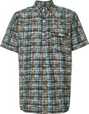 Engineered Garments , 'dk Floral Madras' Short Sleeve Shirt Men Cotton M