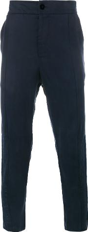 Lot78 , Tapered Trousers Men Cuproviscose 32, Blue