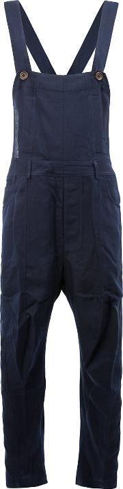 Song For The Mute , Loose Fit Dungarees Men Cottonpolyesterrayon 48
