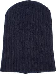 The Elder Statesman , Cashmere Summer Cap Unisex Cashmere One Size, Blue