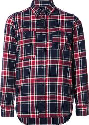 Engineered Garments , Plaid Shirt Women Cotton 1, Women's, Blue