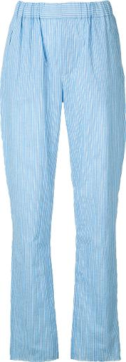 Baja East , Boxing Trousers Women Cottonlinenflaxrayon 1