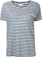 Chinti And Parker , Easy T Shirt Women Linenflax M, Women's, Blue
