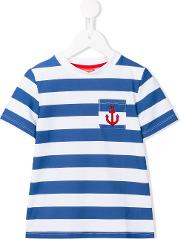 Sunuva , 'anchor' Striped T Shirt Kids Polyamidespandexelastane 2 Yrs, Toddler Boy's, Blue