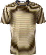 Sunspel , Striped T Shirt Men Cotton M, Blue