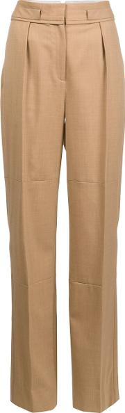 Maiyet , High Rise Wide Legged Trousers Women Spandexelastanewool 8