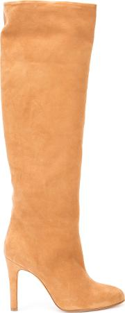 Alexa Wagner , High Rise Boots Women Leathersuede 38, Nudeneutrals
