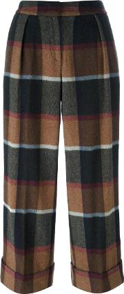 Im Isola Marras , I'm Isola Marras Checked Trousers Women Cottonpolyamidewoolother Fibers 42