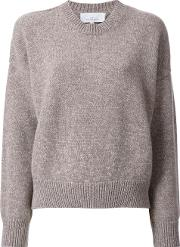 Studio Nicholson , Cropped Jumper Women Cashmereyakmerino 1, Women's, Brown