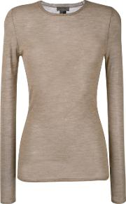 Tony Cohen , Knitted Top Women Cashmere 40, Nudeneutrals