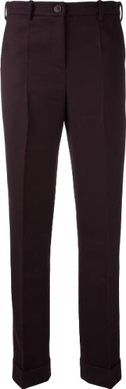 Jacquemus , Classic Trousers Women Woolacetatepolyester 36, Red