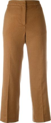 Each X Other , Other Cropped Pants Women Cuprowool M, Nudeneutrals