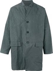 Casey Casey , Wax Jacket Men Cotton L, Grey