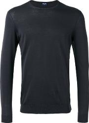 Drumohr , Crew Neck Top Men Cotton 54, Grey